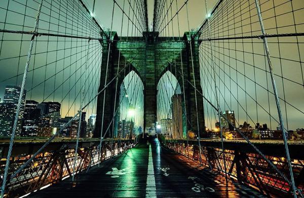 سفر به آمریکا: پل بروکلین نیویورک