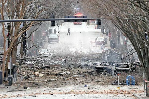 انفجار مرموز در آمریکا
