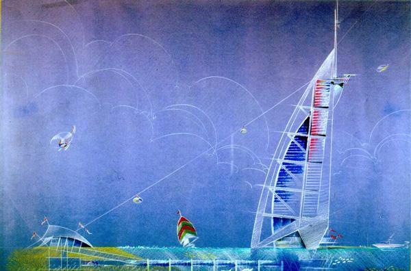 معرفی جامع برج العرب، اولین نماد دبی