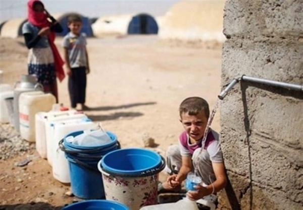قطع آب آشامیدنی یک میلیون سوری در شهر الحسکه توسط ترکیه