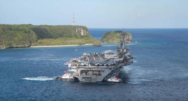 ناو آمریکایی وارد دریای چین جنوبی شد