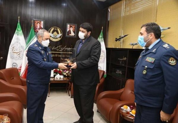 ملاقات رئیس اورژانس کشور با فرمانده نیروی هوایی ارتش