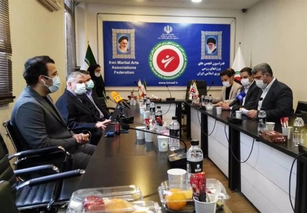 صالحی امیری با حضور در فدراسیون انجمن های ورزش های رزمی: این فدراسیون می تواند صندلی ایران را در بازی های آسیایی ارتقا بدهد