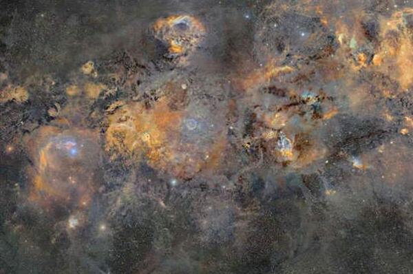 انتشار عکسی از کهکشان راه شیری که تکمیلش 12 سال طول کشید!