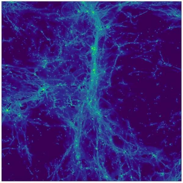 اولین تصاویر ثبت شده از تار های کیهانی