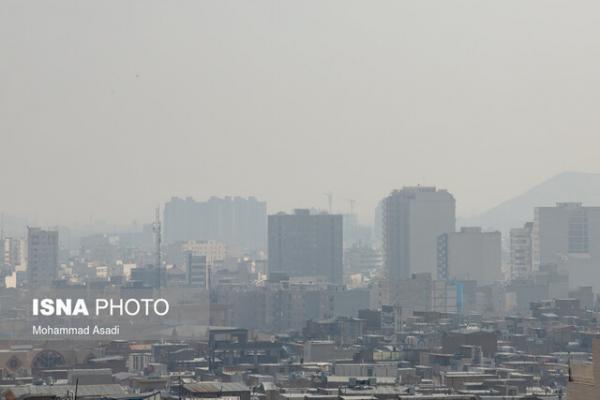 سایه سنگین گرد و غبار بر هوای سه شهرستان استان مرکزی