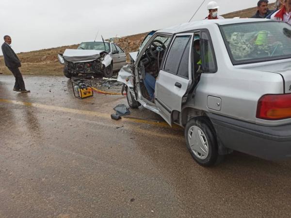 خبرنگاران سوانح رانندگی روز طبیعت در غرب خراسان رضوی 19 مصدوم و یک کشته داشت