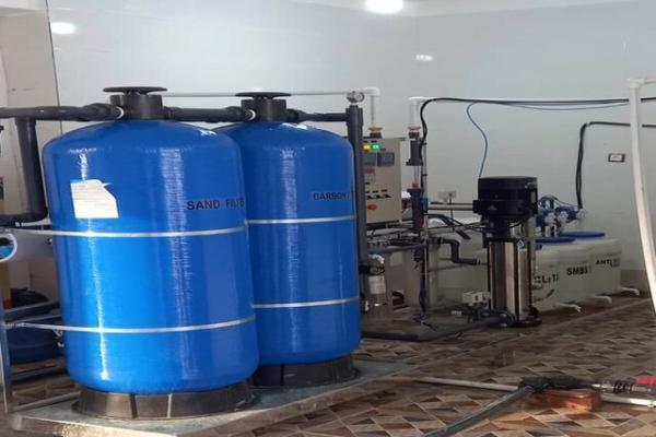 افتتاح ایستگاه آب شیرین کن در ایرندگان خاش