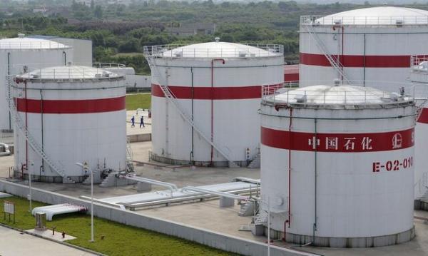 چین از ذخایر استراتژیک نفت آزاد کرد